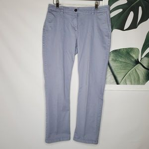 Boden Blue Chinos Ankle Pants Career
